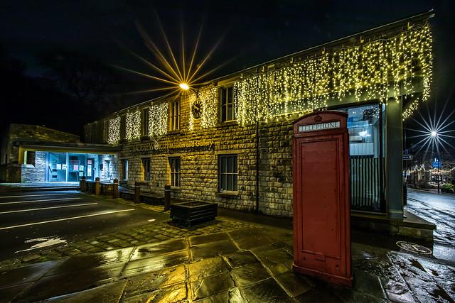 Uppermill Museum Christmas Lights