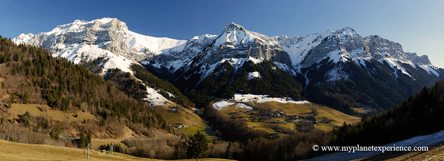 Montmin and French Alps
