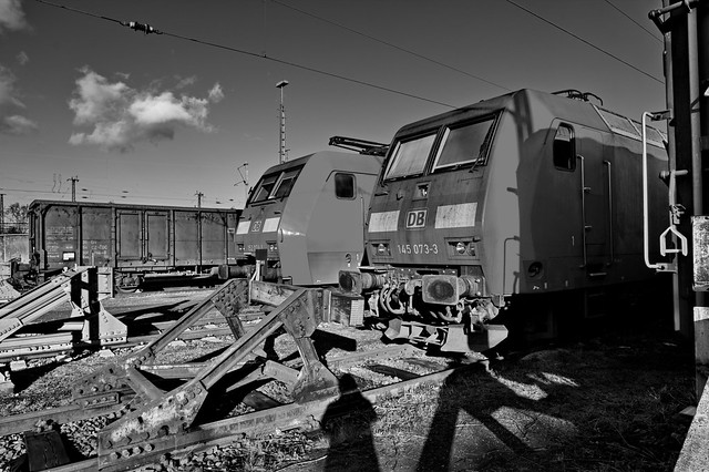 Abandoned - Old Herne Wanne-Eickel freight yard