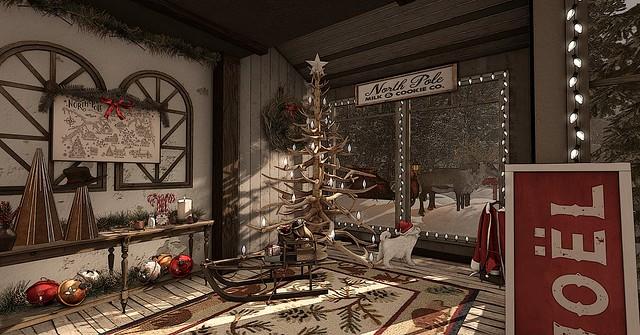 Pit Stop for Santa
