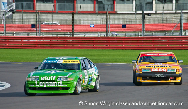 Rover duo at Silverstone