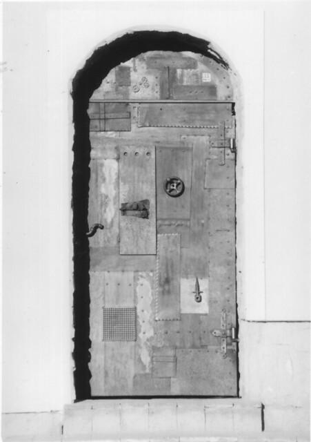 The steampunk door