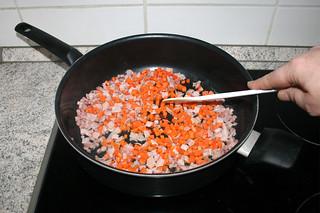 11 - Braise diced carrot / Möhrenwürfel andünsten