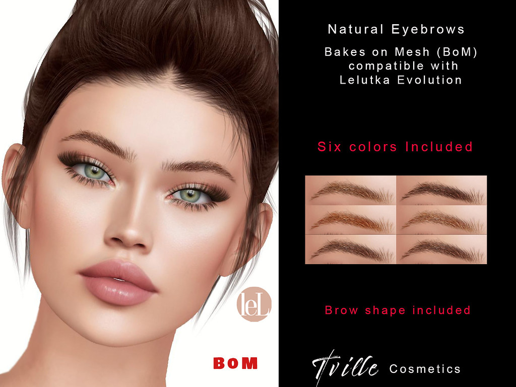 Tville –  Natural Eyebrows (Lelutka)