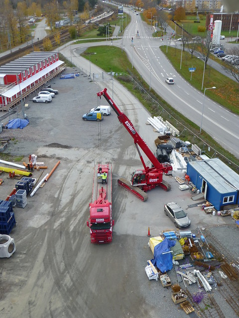 Liebherr LTR 1060 and Scania R620