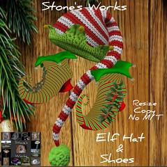 Elf Hat & Shoes