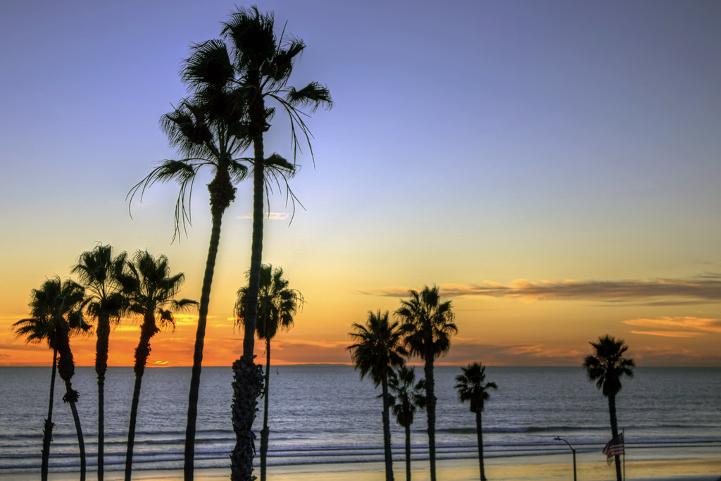 O'Side Beach Sunset 9-12-4-20-70D-24X105mm