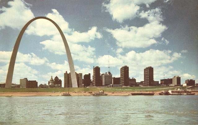 Gateway Arch & Downtown St. Louis Skyline - St. Louis, Missouri