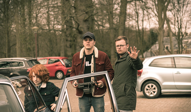 The directors and Brad (Luca).