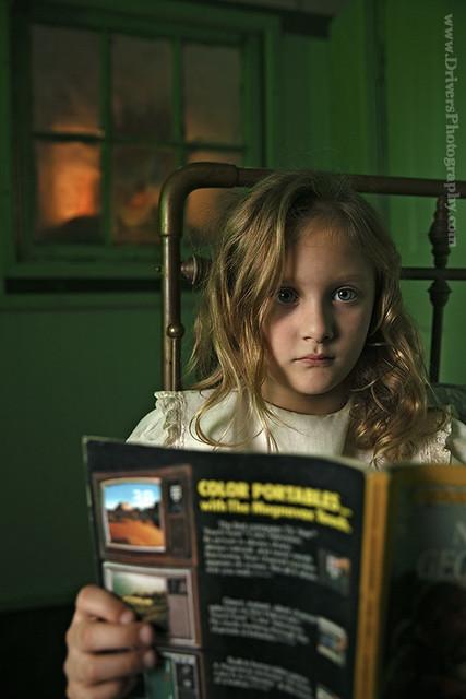 """Brooklynn Palmer in """"Midnight Clown at the Window"""""""