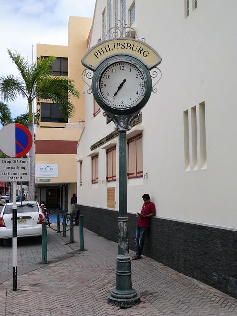 Sint Maarten Clock