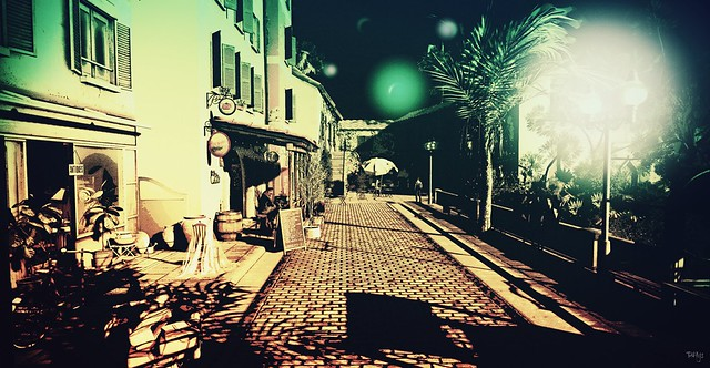 Cafe Terrace at Night (Arles)