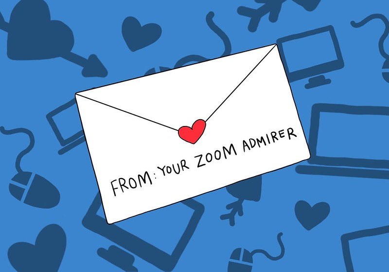 POV: Your Zoom Secret Admirer – My 12 synchronous sessions of loving you