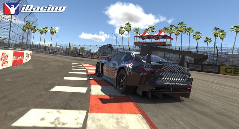 iRacing BMW M4 GT3 rear