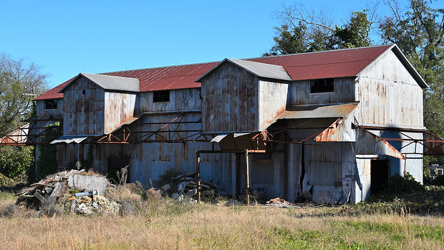 Rusty shed