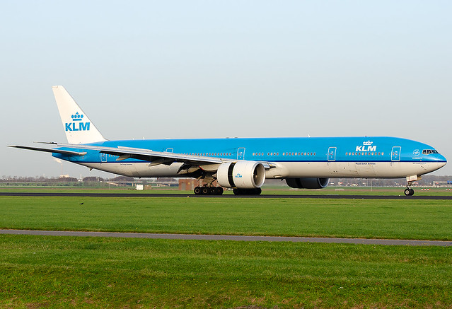 PH-BVG KLM - Royal Dutch Airlines Boeing 777-306/ER