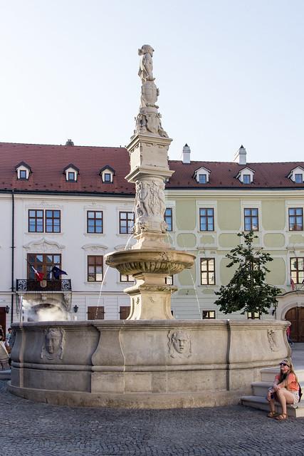 Roland Fountain, Bratislava, Slovakia