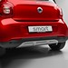 OEM Genuine Smart ForFour(453) BRABUS CROSSTOWN OPTICAL UNDERRIDE PROTECTION GUARD, SILVER REAR