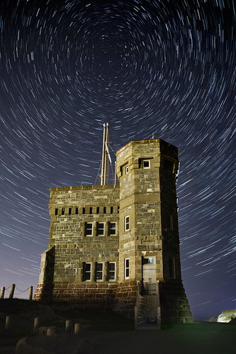 Signal Hill Star Trails | by NFLD Stephen