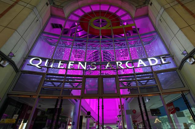 Queens Arcade Entrance