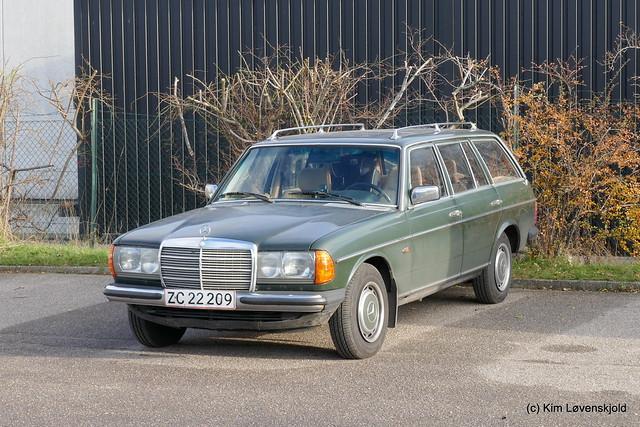 1983' Mercedes 230 TE