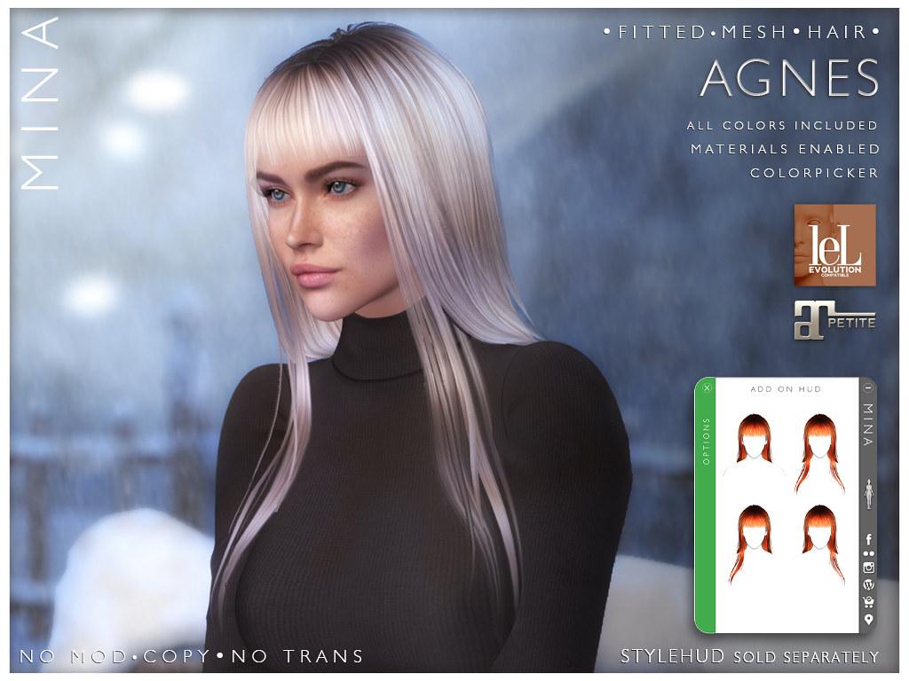 MINA Hair – Agnes for Santa, Inc.