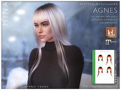 MINA Hair - Agnes for Santa, Inc.
