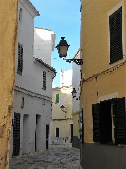 Carrer de Sant Bartomeu, Ciutadella, Menorca, Spain