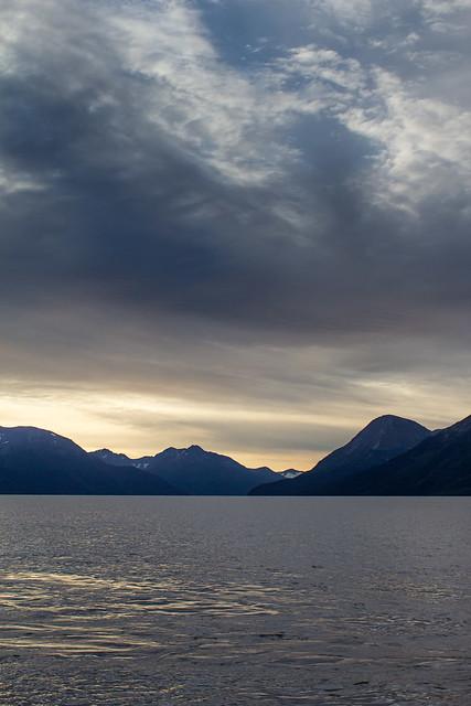 Alaska: Sunrise over Turnagain Arm