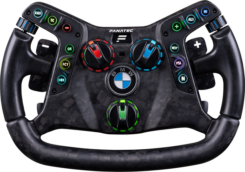 Fanatec Podium Steering Wheel BMW M4 GT3 Front