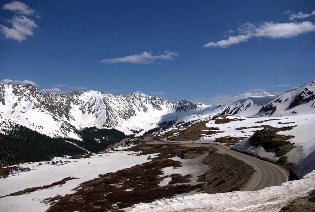 Mountain Views at Loveland Pass