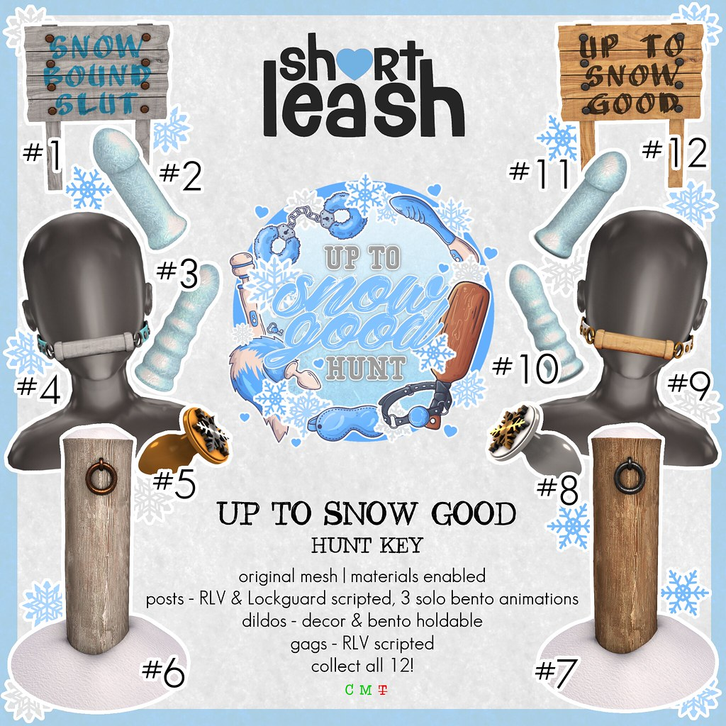 .:Short Leash:. Up To Snow Good 2020 Hunt Key
