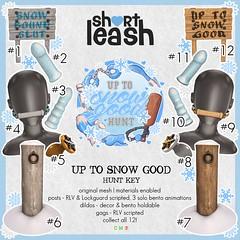 .:Short Leash:. Up To Snow Good 2020 Hunt Key