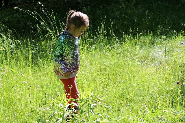 zuzanna in the sea of grass