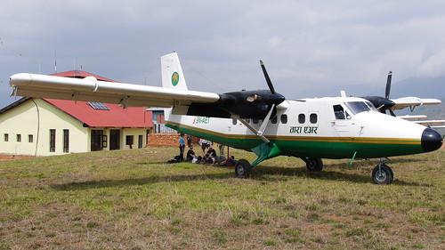 nepal himalaya flughafen flugzeug