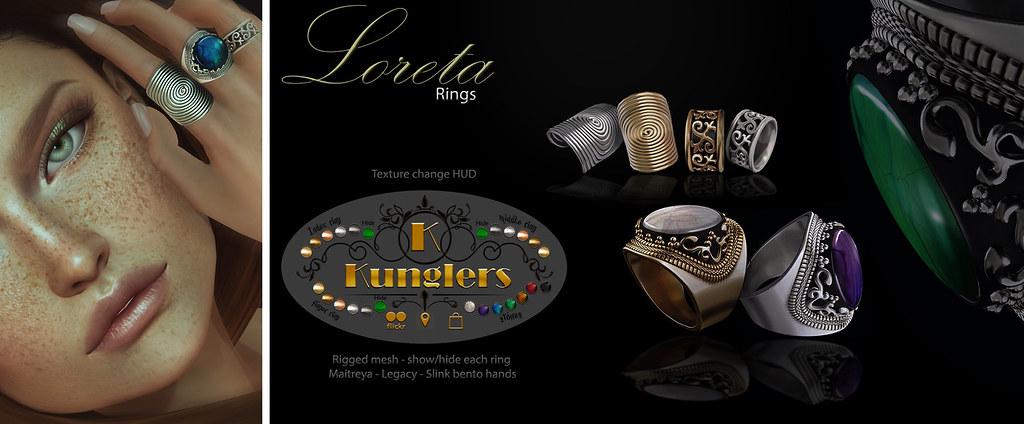 KUNGLERS Loretta vendor