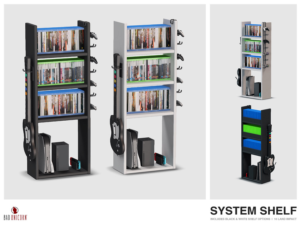 NEW! System Shelf @ TMD