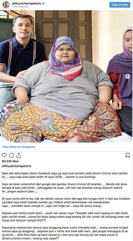 """""""Nak Saman Saya? Kerjalah Wani, Dah Boleh Jalan, Cari La Rezeki,"""" - Aliff Syukri"""