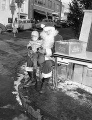 1955 Peekskill Chamber Santa