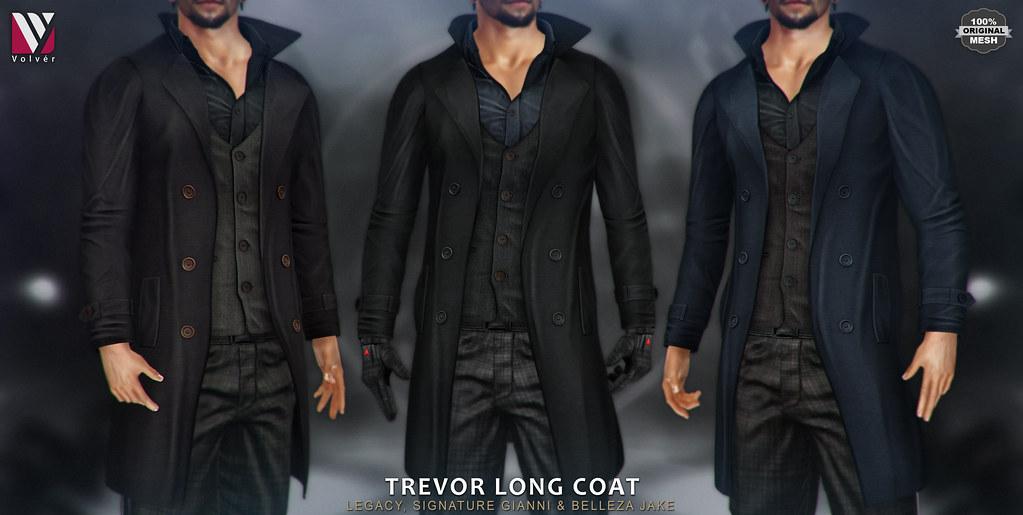 Volver – Trevor Long Coat