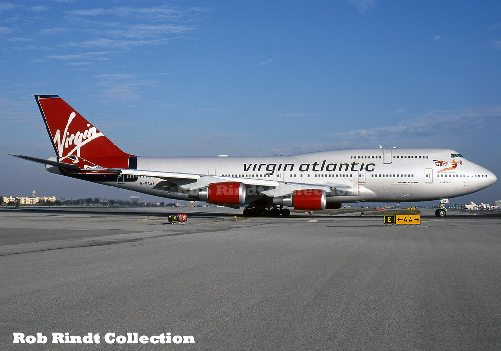 Virgin Atlantic B747-41R G-VAST