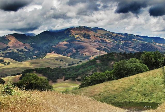 Mt. Diablo from Hanna Ridge 0439