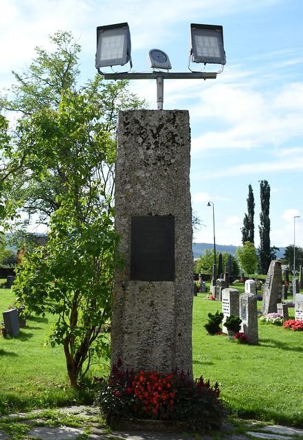 Stiklestad kirke – Krigsminnesmerke