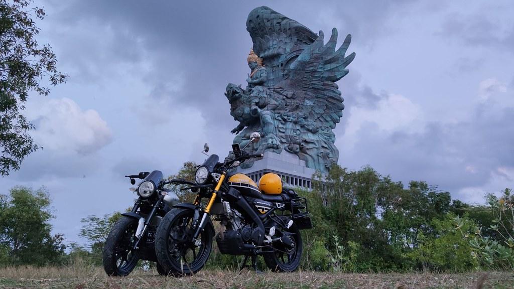 Tempat Favorit Konsumen XSR 155 (Garuda Wisnu Kencana di Bali)