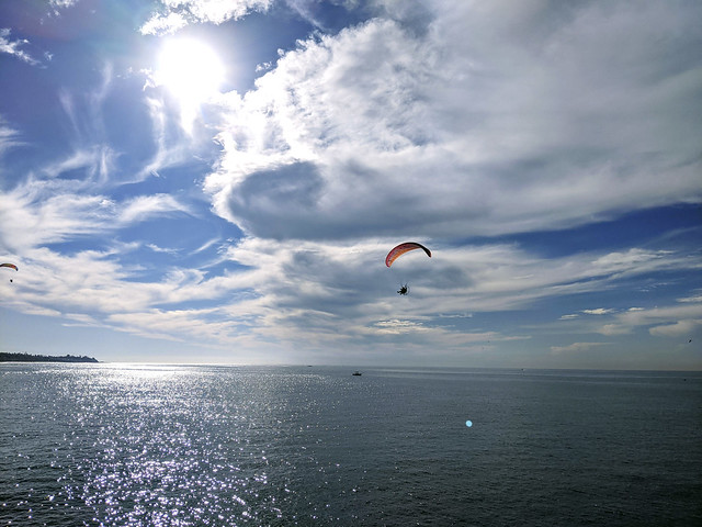 Power Paragliding in San Clemente