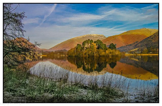Grasmere reflections, Cumbria