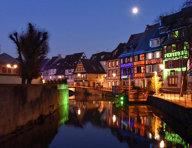 Colmar by Night 1 (Haut-Rhin, F)