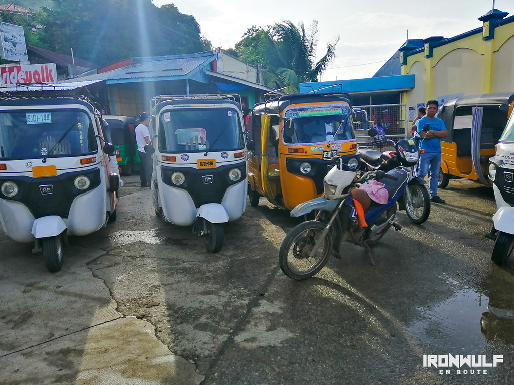 Bao-bao is the common transpo in Dinagat Islands
