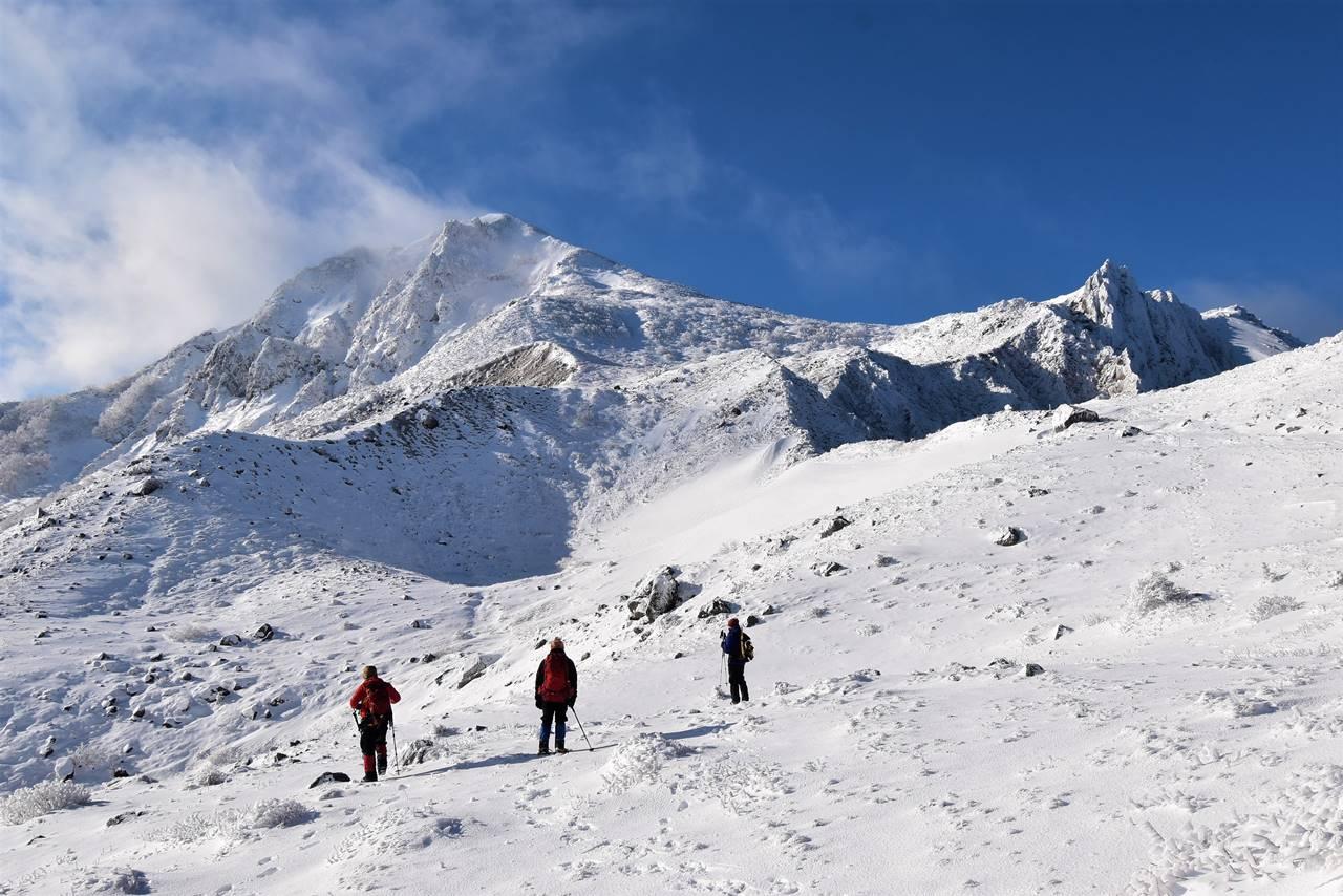 【福島】冬の磐梯山 雪山登山