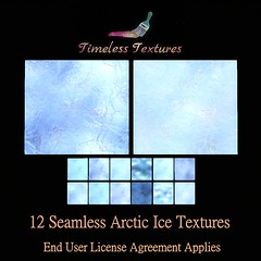 2020 Advent Gift Dec 6th - 12 Seamless Arctic Ice Timeless Textures